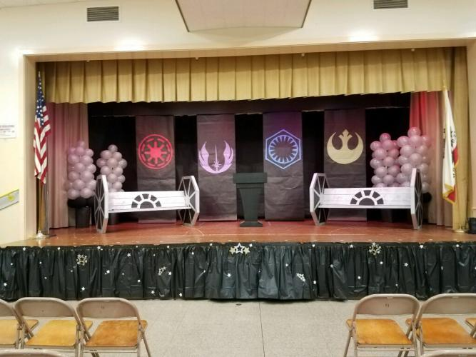 6th Grade Promotion Decorations